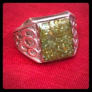 Vintage Men's Sterling Ring